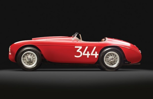 Ferrari 166 MM Barchetta Side Photo