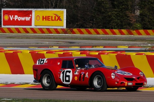 Ferrari 250 GT Breadvan driving at Fiorano Track
