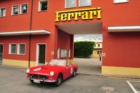 Ferrari 250 GT Cabriolet during Mille Miglia Ferrari Tribute 2010