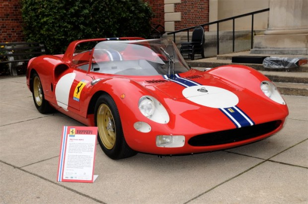 Ferrari 365P2 won the 1965 12 Hours of Reims with Pedro Rodriguez and Jean Guichet