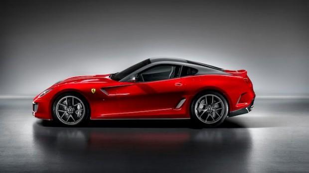Ferrari 599 GTO Side