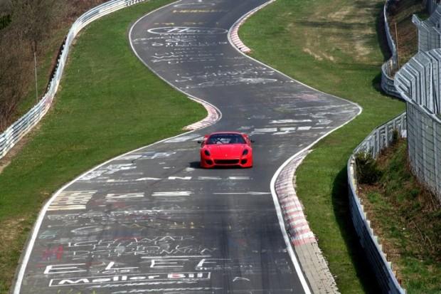 Ferrari 599XX at Nurburgring Top