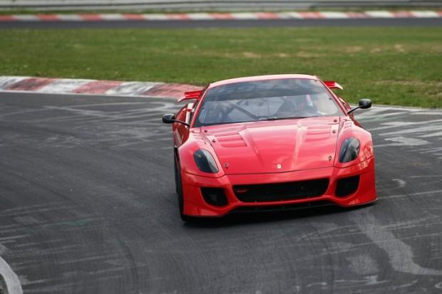 Ferrari 599XX at Nurburgring Close