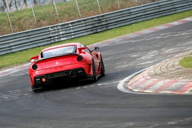 Ferrari 599XX at Nurburgring Rear