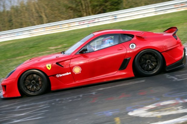 Ferrari 599XX at Nurburgring Side