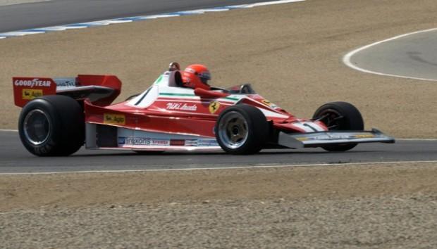 Ferrari F1 at Laguna Seca in 2008