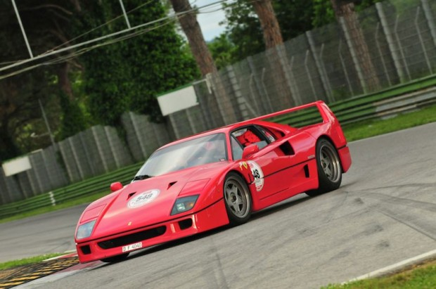 Ferrari F40 - Roland Becker and Sandra Rehm