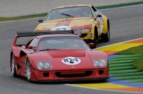 Ferrari F40 of Christian Chavy at Valencia