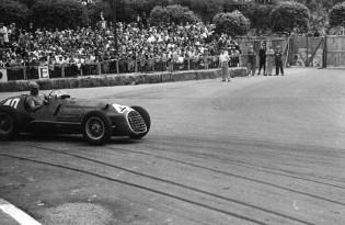 Ferrari racing in the Monaco Grand Prix