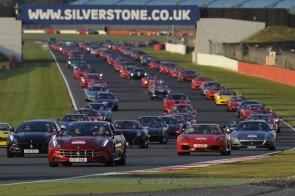 Ferrari Silverstone Parade Broke Guinness World Record