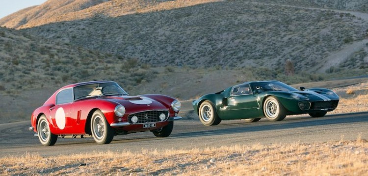 1960 Ferrari 250 GT SWB Comp and 1965 Ford GT40
