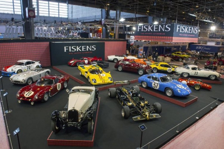 Fiskens Retromobile 2016