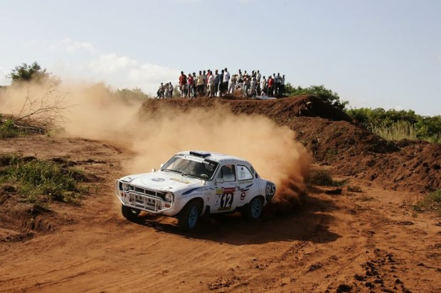 Aslam Kham wheeled his Ford Escort MK I to 29th overall
