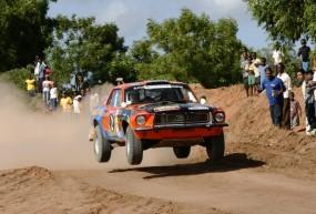 Overall winner Ian Duncan - Ford Mustang