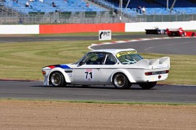 GT2 BMW 3.5 CSL of Ian Guest and Sean Walker. Photo: Simon Wright