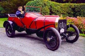 1908 Itala 100hp Grand Prix Car