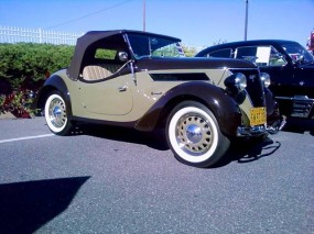 Pre-War German Ford Roadster at Hershey Fall Classic 2010