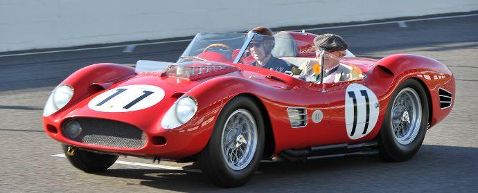 Tony Brooks and Dan Gurney, 1960 Ferrari 250 TR59/60