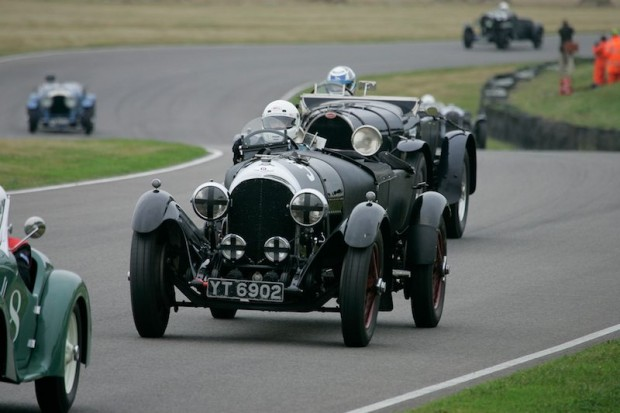 Neil Davies finished 5th with his Bentley Speed Model