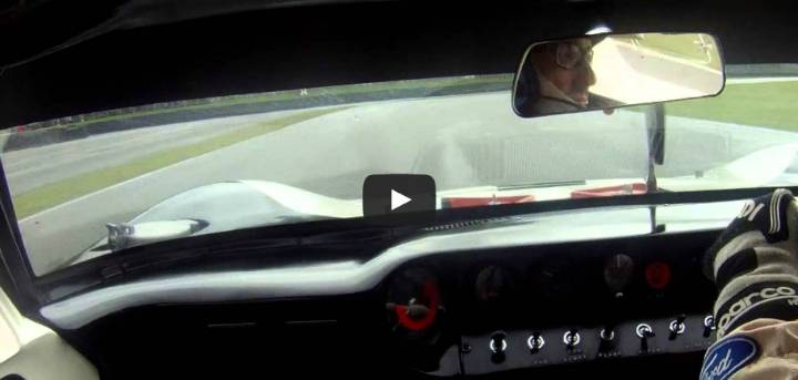 Goodwood Revival Ford GT40 Kenny Brack Video