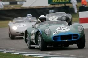 Bennett/Woodgate Aston Martin DB3S, Stippler/von Shenk Porsche 718 RS61 and Franklin/Huni Jaguar D-Type