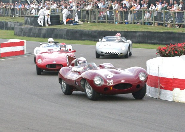 Laidlaw/Hadfield Jaguar D-Type did not finish; photo credit: Peter Brown