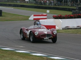 Madwick Cup Winner Lukas Huni in his Maserati A6GCS; photo credit: Peter Brown
