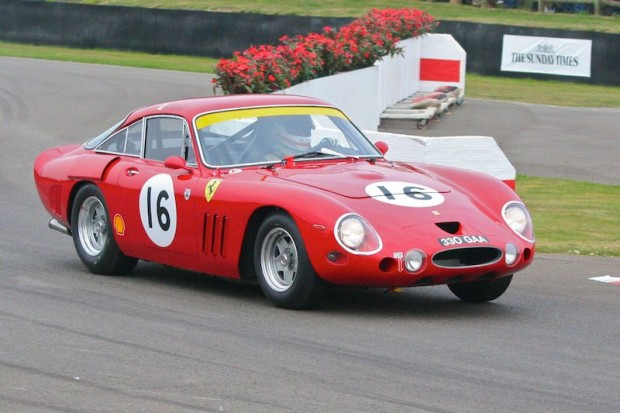 Verdon-Roe/Pirro finished second in the Ferrari 330 LMB; photo credit: Peter Brown