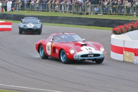 Gounon/Hardman Ferrari 250 GTO/64; photo credit: Peter Brown