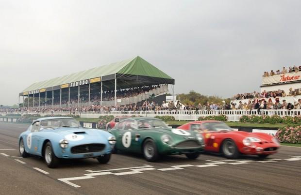 Ferrari 250 GT SWB Competizione, Aston Martin DB4GT Zagato and Ferrari 330 LMB