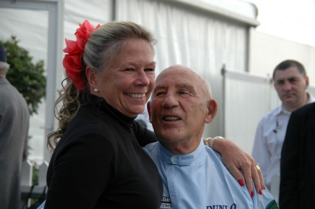 Sir Stirling and Lady Susie Moss