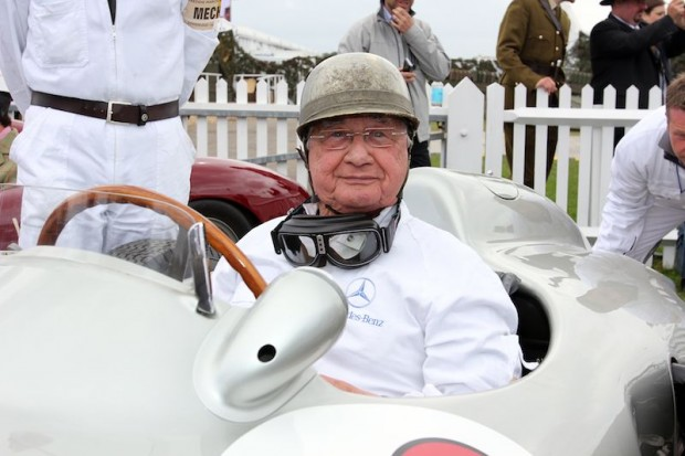 Hans Herrmann (W 196 R open-wheel version), Mercedes-Benz Classic, Goodwood Revival 2011