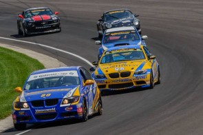 Grand-Am GT Series Participants testing at IMS