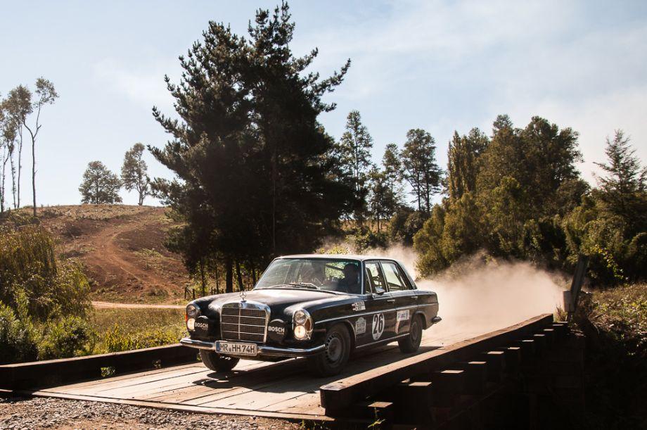 3rd Overall and winners of Class D - 1969 Mercedes-Benz 280SE of Herbert Pinzolits and Hans Geist