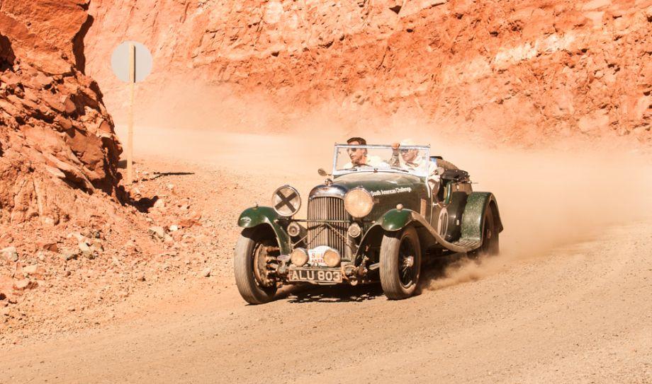 1933 Lagonda M45 was shared by Martin Egli, Thomas Kern, Marc Buhofer and Jack Amies