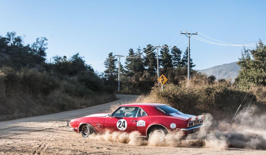 1968 Chevrolet Camaro entered by the Australian team of Reg Toohey and Tony Spanjers