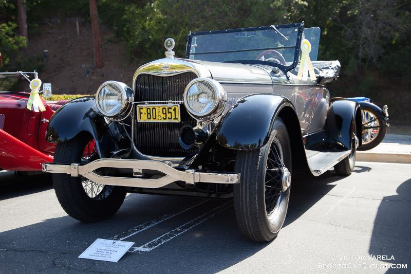 1925 Lincoln L - owned by Arnold Schmidt & Joanne Young