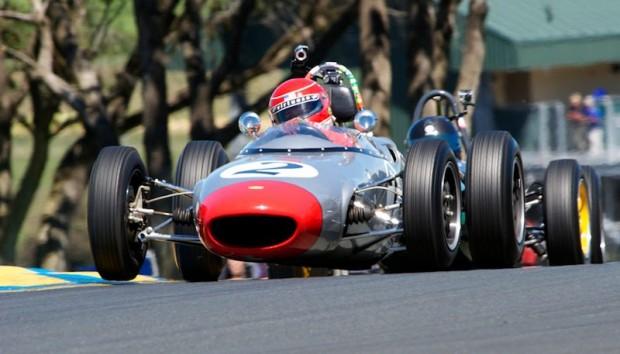 Race winning 1963 Lola Mk 5A F- Jr. driven by Art Hebert