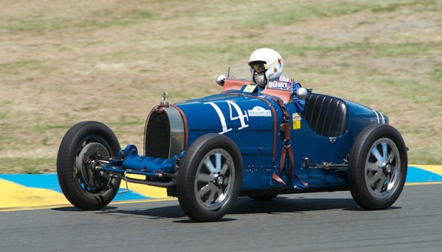 1934 Bugatti Type 59 driven by Charles McCabe