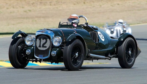 V12-powered 1939 Lagonda driven by Richard Morrison