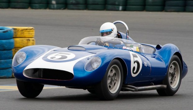 John Morton piloted the Collier Collection's 1958 Scarab SR