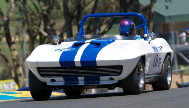 Head of the Class - Terry Gough in his very fast 1965 Chevrolet Corvette