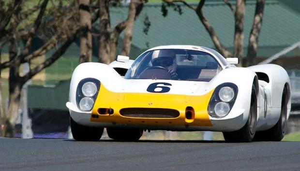 Porsche 908K driven by Cameron Healy