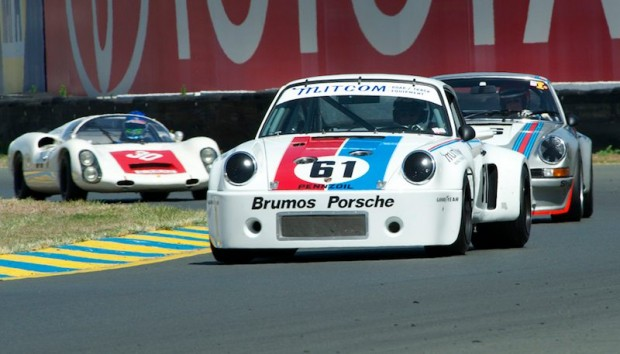 Bradley Harris drove the 1975 Brumos Porsche RSR