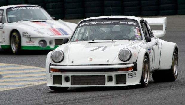 Jim Lawrence in his 1977 Porsche 934.5