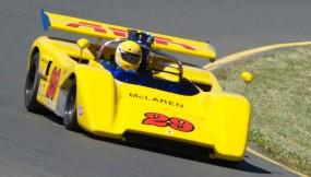 1971 McLaren M8-E driven by Tom Gardner