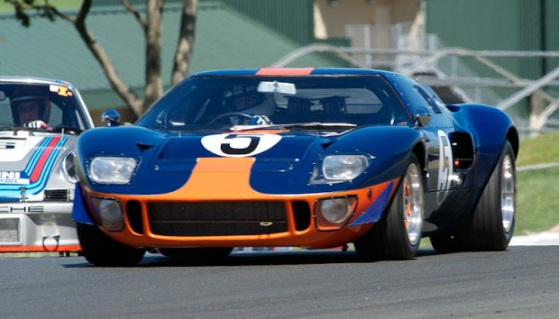 1966 Ford GT40 driven by Chris MacAllister
