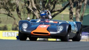 Dave Olson and his Lotus 23C
