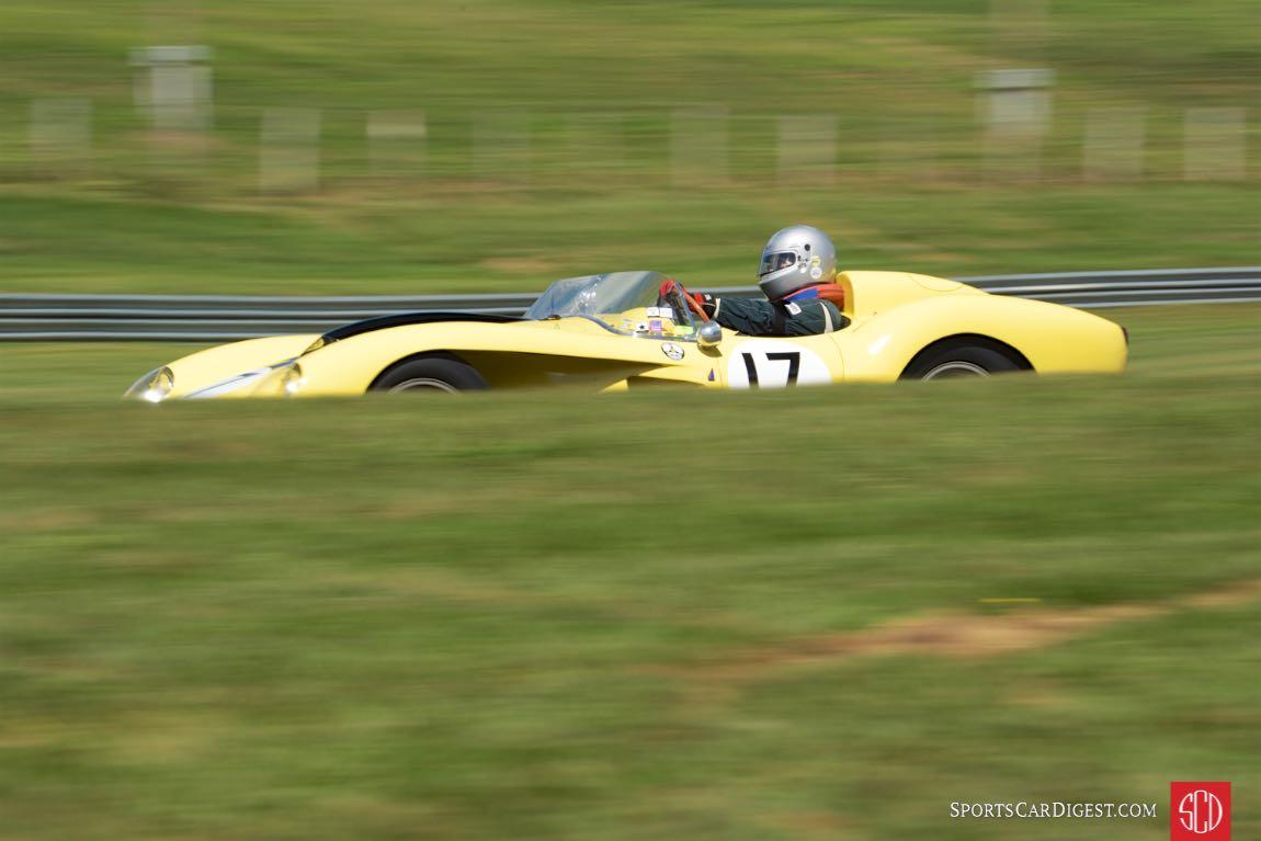 1958 Ferrari 250 Testa Rossa.