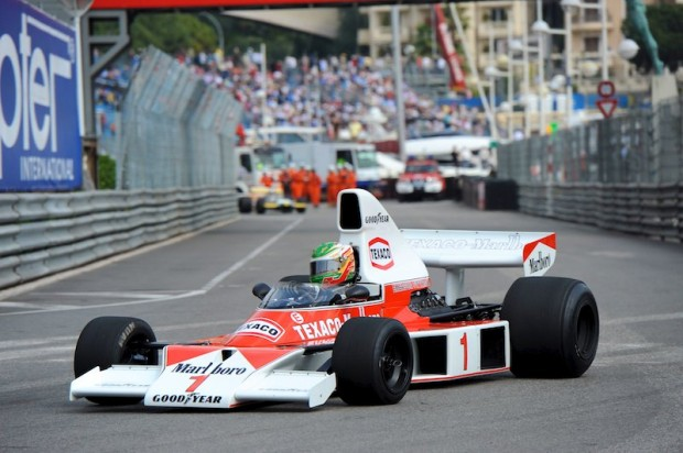 1976 McLaren M26 of Christophe D'Ansembourg - Monaco Historic Grand Prix